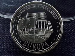 Európai Parlament, 15 g színezüst emlékérem
