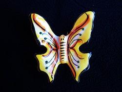 Kerámia falra akasztható pillangó