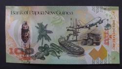 Pápua Új-Guinea 100 Kina aUNC 2008