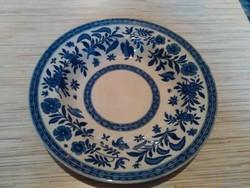 Antik Francia porcelán kínáló tányér