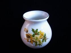 Aquincumi retró bogáncsmintás öblös váza