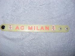 AC MILAN szilikon szurkolói karkötő foci , labdarúgás