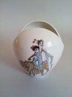 Edelstein Bavaria hasított szájú váza