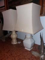 Angol porcelán asztali-lámpa páros, kérésre bontom is. 40-50 centisek