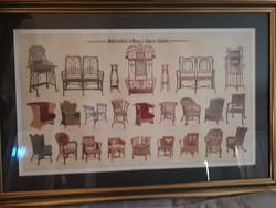 Művészi bútorok katalógusa