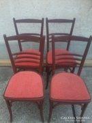 Régi ,retro hajlított fa székek 4db