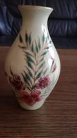 Zsolnay orchideás, liliomos váza