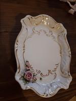 Porcelán asztalközép ,kínáló tál