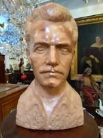 József Attila márvány mellszobor