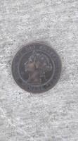 Antik egy cent 1882