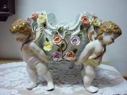 Neundorf német porcelán asztalközép