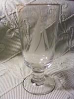 Balatonfüred talpas pohár
