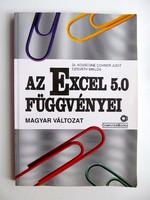 Az Excel 5.0 függvényei - magyar változat - ComputerBooks