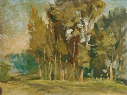 "Basch Andor (1885-1944) "" Erdőszéle """