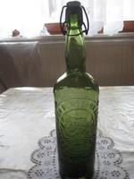 Sörös üveg   csatos  ,Frankfurter Bürgerbrauerei  AG    8x 33 cm