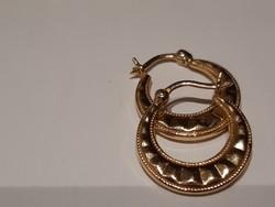 Antik 14k. arany karika fülbevaló 2,30 gramm