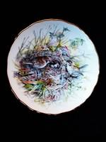 """Royal Albert """"A kert madarai1989.""""  dísztányér"""