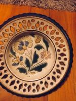 Bozsik kerámia tányér