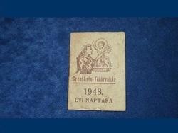 Páduai Szent Antal Fiúárvaház 1948. évi naptára *148
