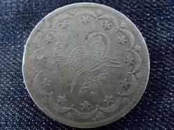 Oszmán Birodalom - I. Abdul-Medzsid ezüst 20 Kurus piaszter 1860 (1255), Konstantinápoly /5473/