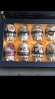 Porcelán tojások 8darab egyben