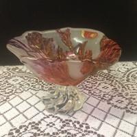 Meseszép WALTHER Glass talpas asztalközép,kínáló