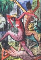 Magyar művész : Aktrakció 1990