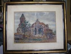 Dniepropetrowszk Templom rom 1941