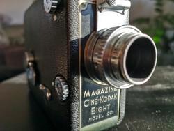 Kodak 8mm es kamera 1937 ből