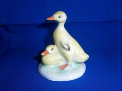 Aquincumi porcelán: sárga kacsák, kacsapár 1-es