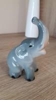 Aquincumi porcelán szerencsehozó elefánt