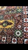 Csodaszép kézicsomózású szőnyeg