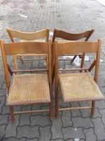 Kerti szék ősszecsukható 5db egyben.Fellelt állapot 4000.-Ft