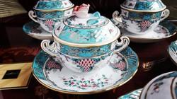 Herendi porcelán Tupini Corne d' Abondance fedeles leveses csészék
