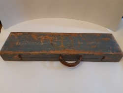 RITKASÁG!!! Antik német HAJÓÁCS SZERSZÁM racsnis fúró 4 fúrószárral eredeti jelzett tokban