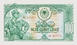 Albánia  100 Albán Lek 1957 UNC