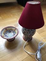 Eladó új Kósa Klára kerámia lámpa és tál