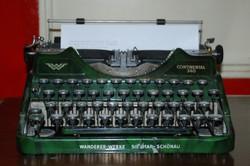 Art Deco írógép - CONTINENTAL 340