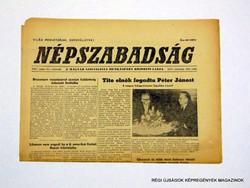 1967 május 11  /  NÉPSZABADSÁG  /  Régi ÚJSÁGOK KÉPREGÉNYEK MAGAZINOK Szs.:  8645