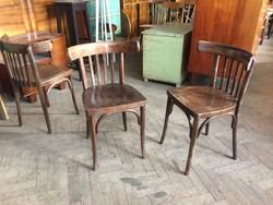 Régi vintage thonett szék étkezőszék thonet