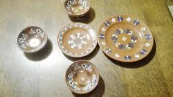 Városlődi fali tányérok.