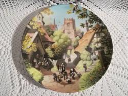 """Coalport """"Village School"""" by Robert Hersey"""
