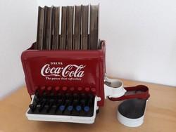 Antik Coca Cola Pénztárgép és Cent Visszaadó