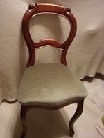 Jó állapotú szép neobarokk szék 55cm magas üléssel!