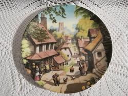 """Coalport """"The Village Shop"""" by Robert Hersey"""