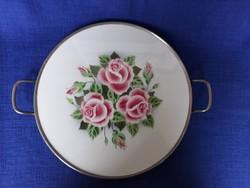 Rózsás majolika asztalközép
