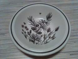 Angol porcelán kompótos kis tálka