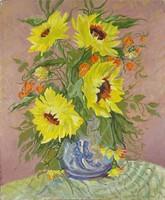0U898 Ismeretlen művész : Asztali virágcsendélet