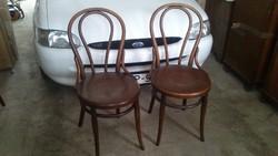 Eredeti Bécsi Thonett székek Párban.