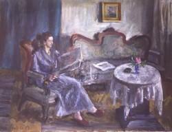 Orosz Gellért eredeti festménye